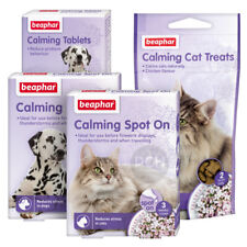Beaphar Calming Spot On Tablets or Treats Reduces Stress in Dogs and Cats
