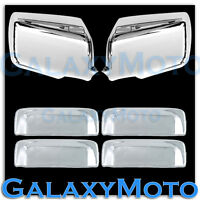 06-11 FORD RANGER Triple Chrome Plated Mirror+4 Door Handle Cover Combo Kit