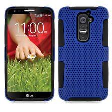 LG Optimus G2 AT&T T-Mobile Sprint Verizon Hybrid Mesh Case + Screen Protector