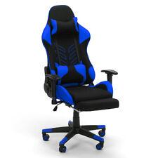 Chaise gaming de bureau design ergonomique avec coussins et accoudoirs MISANO SK