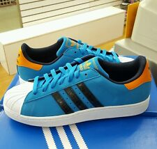 Adidas Superstar II  Solid Blue / Running White  Men's US Size 8.5