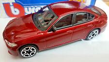 Alfa Romeo Giulia Red - Die Cast 1:43 - BBurago New in Box