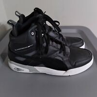 Puma Trinomic Slipstream Mens Size 9 Shoes High Top Black/White Athletic Sneaker