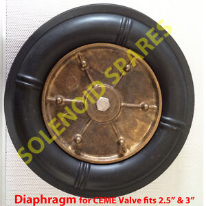 """DIAPHRAGM  2.5"""" and 3"""" for solenoid valve CEME 86 Series only"""
