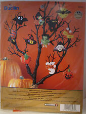Bucilla HALLOWEEN ORNAMENTS Felt Ornaments Kit #86430 Sealed