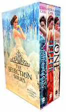 The Selection Series Collection Kiera Cass 3 Books Box Set One, Elite, Selection