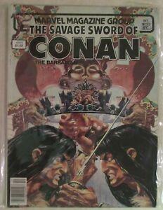 MARVEL PRESENTS - THE SAVAGE SWORD OF CONAN COMIC MAGAZINE - ISSUE #93 - 1983