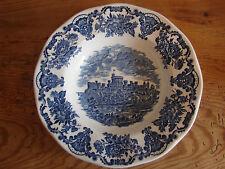 Suppenteller, 22cm, Wedgwood, Royal Homes of Britain, blau, mehrere