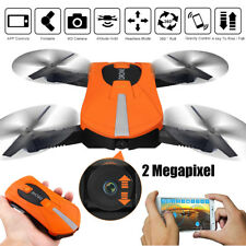2MP 720P HD VIDEO CAMERA MINI DRONE QUADCOPTER WIFI FPV QUADRICOTTERO JY018