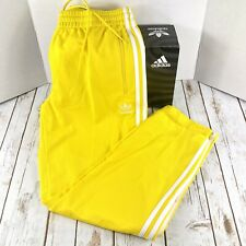 NEW Adidas Originals Firebird Track Jogger Pants Yellow ED7014