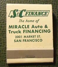 Matchbook - S and C Finance Auto Loans San Francisco CA FULL