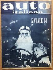 Auto Italiana - 1961 n° 36 - O.S.C.A. De Tomaso F1 - Fiat 500 con motore Guzzi