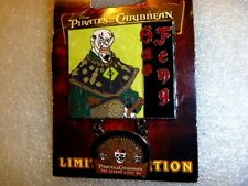 Disney pin -WDW - The Legend Lives On - Sao Feng  COOL! LE 2000
