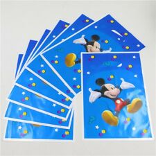 Mickey Mouse Blue Party Bags Loot Bags Happy Birthday