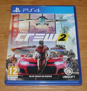 The crew 2 Game for Sony PS4 Playstation 4
