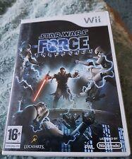 STAR Wars Forza la potenza scatenata e giocattolo srory mania.nintendo WII.