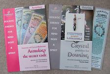 SCORPIO - Handmade birthstone pendulum for Dowsing + 2 great books & a bookmark