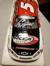 NASCAR Richard Boswell #5 RCCA 2009 Impala SS Autographed 1:24 Scale Diecast