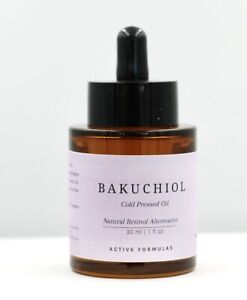 Bakuchiol Oil,  Cold Pressed Natural Retinol Alternative for Age Defy Skin Care