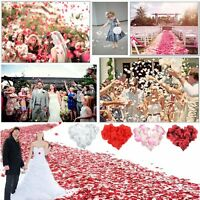1000 Silk Rose Flower Petals Wedding Decoration Confetti Engagement Celebration