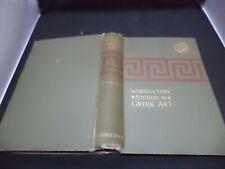 Einleitende Untersuchungen Griechische Kunst alt antik Buch Jane Harrison Archäologie 1824