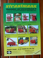 STRAUTMANN Siloentnahme- und Futterverteiltechnik - Prospekt 1991 (0590-2