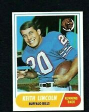 NM 1968 Topps Football #19 Keith Lincoln.