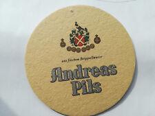 Alter Bierdeckel ANDREAS Pils - Privatbrauerei HAGEN /K1
