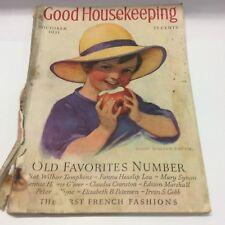 Good Housekeeping Oct. 1931 Old Favorites Number - Free Shipping