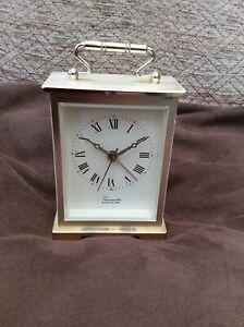 TIMEMASTER CARRIAGE CLOCK (quartz alarm)