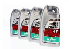 4 Stück Motorex Cross Power 4T 10W50 1L