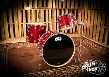 DW Collectors Series Shell Pack in Ruby Glass FinishPly (video demo)