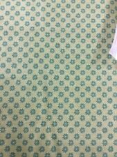 Liberty of London Floral Dot Fabric In Green By Half Meter
