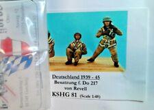 HECKER GOROS KSHG 81 - DEUTSHLAND1939-45 PILOT   SOLDATINI 1/48 WHITE METAL
