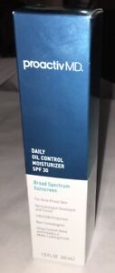 Proactiv MD Daily Oil Control Moisturizer SPF 30 Broad Sunscreen 1.5oz Exp 1/21