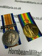 Original World War 1/WW1 Medal Pair, Royal Fusiliers