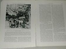 1932 magazine article, TOKYO Japan, rebuilding after 1923 earthquake