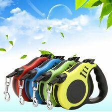Automatic Dog Leash 3M/5M Retractable Flexible Puppy Rope Collar Small Medium