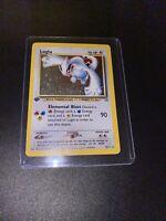 2000 Neo Genesis 1st Edition Lugia Holo Rare Pokemon Card 9/111 - Lightly Played