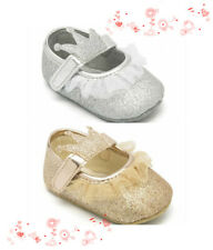 Infant Baby Girl Crown Crib Shoes Child Party Wedding Princess Shoes Size 1 2 3