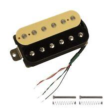 Electric Guitar Humbucker Pickups Bridge Alnico V Pickup (Zebra + black) A7O8