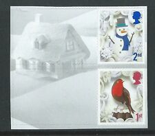 GREAT BRITAIN 2016 CHRISTMAS PAIR WITH ELLIPTICAL PERFORATIONS UNMOUNTED MINT