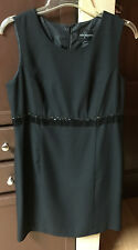 John Roberts Black Dress Size 16 Previously Owned