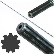 Asta di trasmissione 9 denti Ø8mm 153 cm per decespugliatore tosaerba ricambio