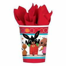 8pk Bing The Bunny Children's Birthday Party Dispoable 266ml Paper Cups