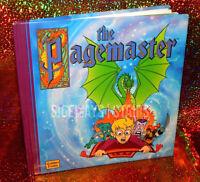 THE PAGEMASTER HARDCOVER BOOK macaulay culkin rare cover golden books nimoy 1994