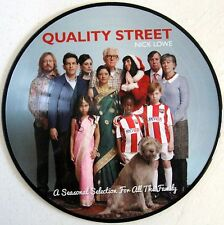 """Nick Lowe - Quality Street - 2014 - USA - 12"""" Picture Disc LP - 45 RPM - New"""