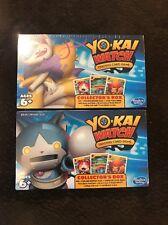 YO-KAI WATCH CARD GAME COLLECTOR'S 2 BOX LOT YOKAI ROBONYAN KYUBI MEDAL BOOSTER