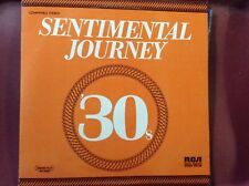 Sentimental Journey 30's and 40's 2 LP set EX/EX cond