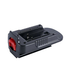 Universal 20V Battery Adapter-Converter for Black Decker 18V NiCad & NiMh Spare